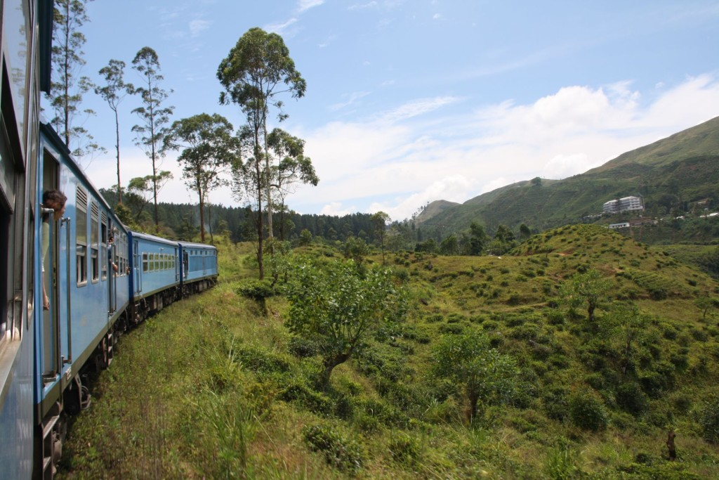 Sri Lanka train scenic route