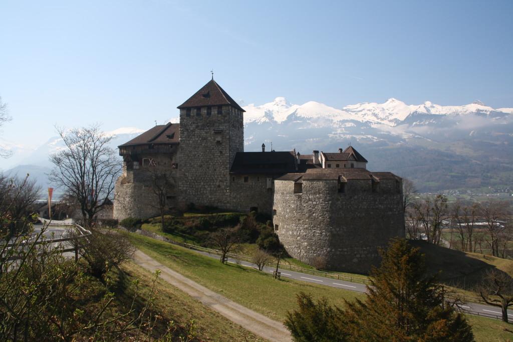 Liechtenstein - Vaduz castle