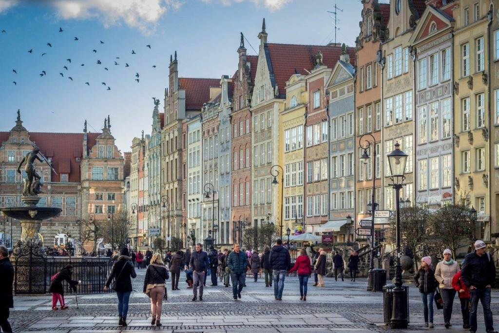 gdansk, polsko